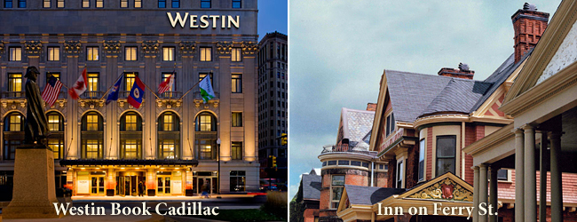 The Westin Book Cadillac Hotel/The Inn on Ferry St.